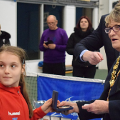 9 and 11 February 2018 - I was honoured to attend the opening and closing ceremony of the International Tennis Europe Winter Cups sponsored by Head at Silksworth Tennis Centre.