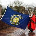 12 March 2018 - Raising the Flag for Commonwealth Day alongside the Lord-Lieutenant for Tyne and Wear, Mrs Susan Winfield OBE.  It was a great turn out and I thank everyone who came to support the cause.