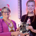 22 March 2018 - I had a fantastic evening presenting awards to some inspirational young adults at the Sunderland Young Achievers Awards held at the Stadium of Light.