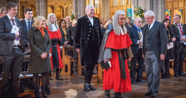 12 April 2018 - I attended the Installation of the High Sheriff of Tyne Wear. The new High Sheriff is Mr Paul Callaghan.