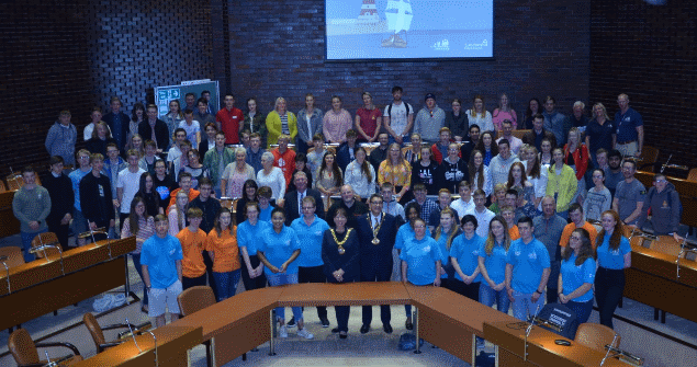21 June 2018 - I hosted a reception for Sail Trainees along with their sponsors at Sunderland Civic Centre ahead of the Tall Ships Races event in July 2018.