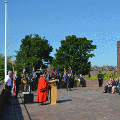 29 June 2018 - I hosted the annual Armed Forces Day Flag Raising event in Sunderland which is a national event to help raise awareness of the contribution made to our country by those who have served in Her Majesty's Armed Forces.