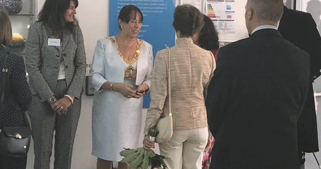 11 July 2018 - I was honoured to meet Princess Anne as she visited Sunderland to meet sail trainees at the Official Launch of the Tall Ships Races Sunderland 2018.