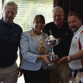 3 August 2018 - I held my Mayor's Charity Golf Day alongside the Consort 'At Home' event. It was a very wet day but the attendees were brilliant and powered through raising £3000 for my charities.