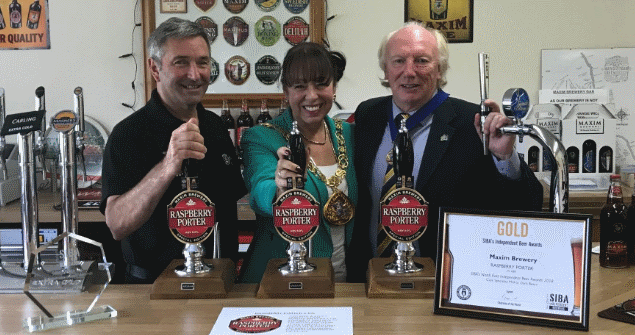 28 August 2018 - I visited Maxim Brewery at Houghton le Spring and took a tour of their fantastic facilities.