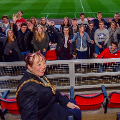 11 October 2018 - A week-long exchange programme between THG Essen and Sunderland College saw a group of students visit the Stadium of Light for a tour. I met the students to find out about their experiences as part of our Twin City status with Essen.