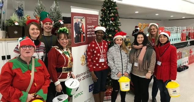 15 and 22 December 2018 - Alongside my charities volunteers I completed two charity bag packs in Asda Washington and Sainsbury's Silksworth raising over £1500.