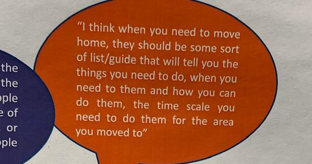 Quote about finding information