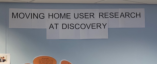 User research at Discovery