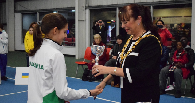 8 and 10 February 2019 - I attended the Tennis Europe Winter Cups by Head 12 and under girls European finals. This is the most prestigious junior tennis team event in the world.