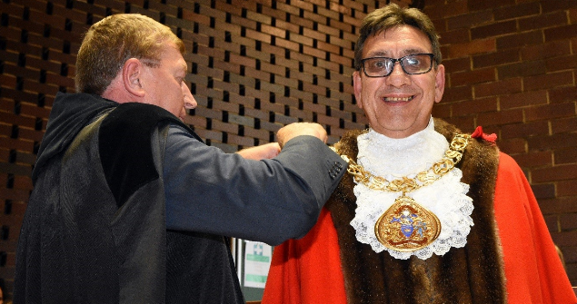 15 May 2019 - I was inaugurated into The Office of the Mayor at the Annual Council Meeting and Mayor Making Ceremony.