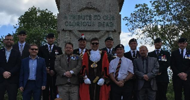 6 June 2019 - I attended a service to mark the 75th anniversary of the D-day Landings at the Cenotaph on Burdon Road, Sunderland. There was a great turn out on the day with hundreds of Veterans in attendance.
