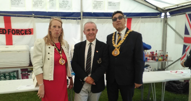 28 June 2019 (b) - I attended the Armed Forces Day Celebration Event at Seaburn, what a fantastic weekend of free events for our community to attend.
