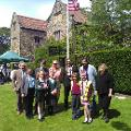 4 July 2019 (a) - I attended the Annual American Independence Day Celebrations at Washington Old Hall.