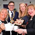 1 August 2019 - The Mayoress and I hosted the Mayoress at Home Event. This was held as part of Washington MIND's Summer Fair.