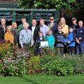 27 September 2019 - I met with the winners of Washington in Bloom competition, well done everyone!