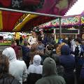 4 October 2019 - Kicking off Houghton Feast 2019 by meeting with some specially chosen youngsters who were able to enjoy a few rides prior to official opening of the fun fair .