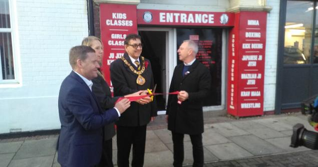 11 November 2019 - I officially opened the new offices of Veterans in Crisis who are one of the good causes I am raising much needed funds for this year.