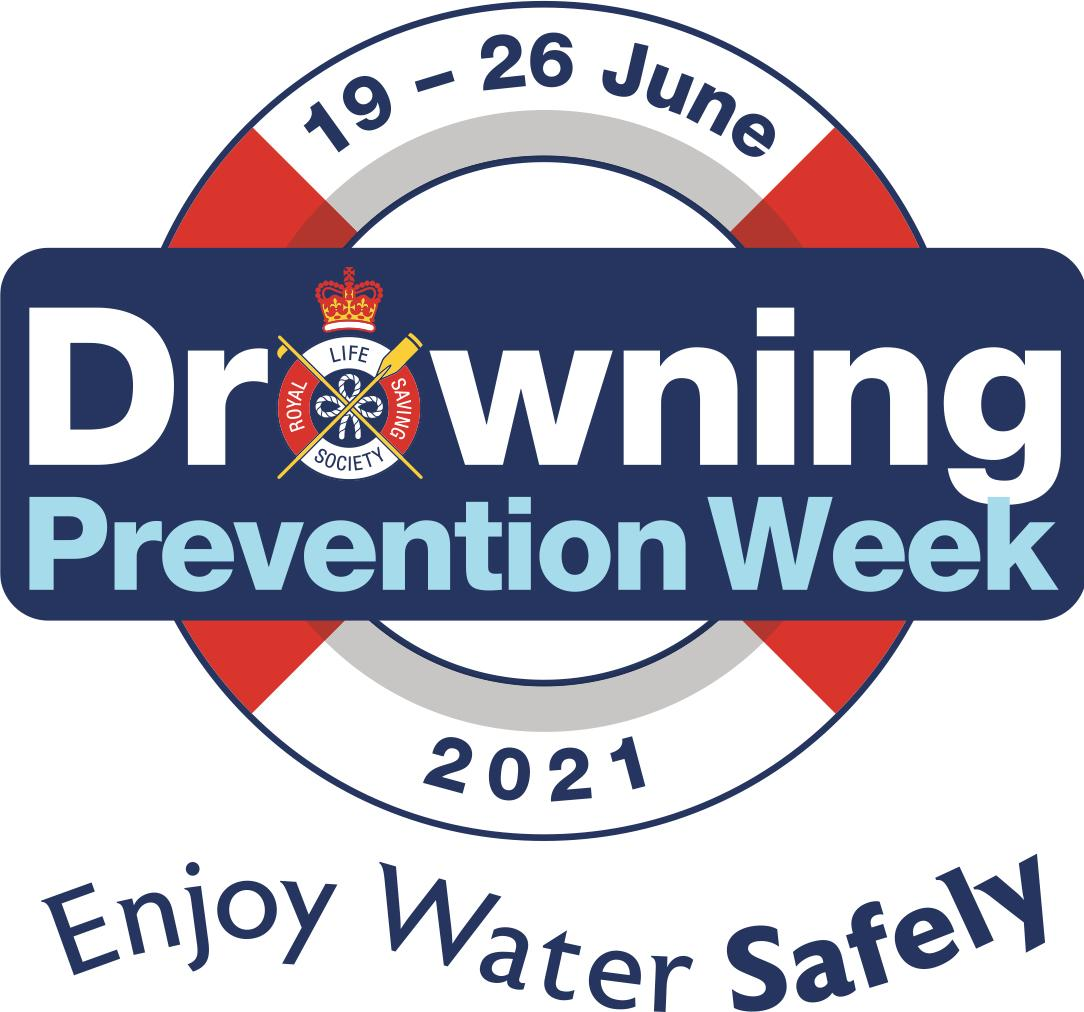 Drowning Prevention week 2021 logo