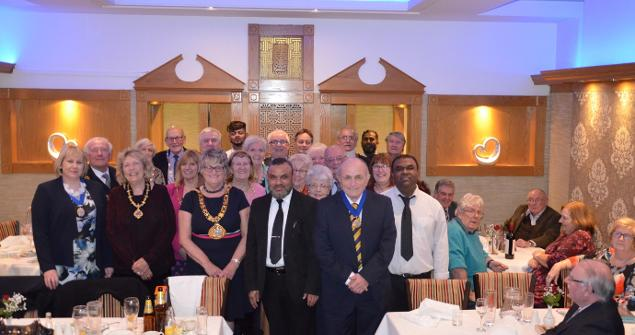 15 January 2018 - My Charity Curry Evening at the Shagorika Restaurant in Seaburn was a great success, raising over £634 for my three chosen charities. Thank you to everyone who supported this event.