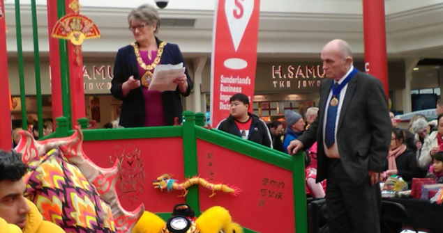 25 February 2018 - Here I am in Sunderland Bridges celebrating Chinese New Year and what a wonderful afternoon we had.  Well done to everyone involved in making this event a great success.
