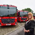 Children invited to name new recycling vehicles.