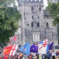 Historic Hylton Castle hosts 'The Battle for Sunderland' this August Bank Holiday weekend.