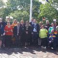 17 May 2018 - I raised the Rainbow Flag to celebrate International Day Against Homophobia, Biphobia and Transphobia (IDAHOT) and gave a short speech at a reception following the flag-raising.