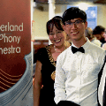 7 July 2018 - As Honorary Patron of Sunderland Symphony Orchestra I attended their Summer Concert 'Music from the Sea'. The programme included 'Roker Pier,' a contemporary piece composed by the talented Lawrence Chiu.