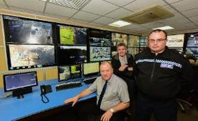 Community safety partners are using the latest surveillance technology to help tackle anti-social behaviour  image