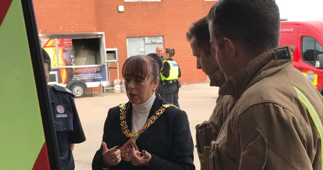 22 September pm 2018 - I attended the annual Tyne and Wear Fire and Rescue Service open day event where members of the community got the chance to see what our firefighters do on a daily basis, and also receive vital fire safety advice and education