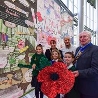 Children from across Sunderland have created visual reminders of the First World War