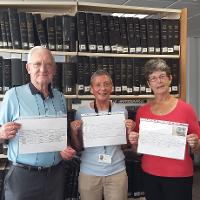 Sunderland's Local Studies Library has helped re-unite a family