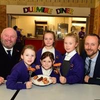 Sunderland primary school pupil creates the perfect sausage recipe