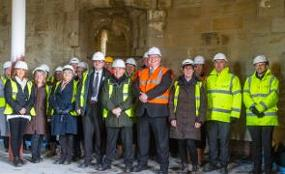 The restoration of historic Hylton Castle is now entering the final phase  image