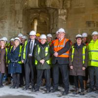 The restoration of historic Hylton Castle is now entering the final phase