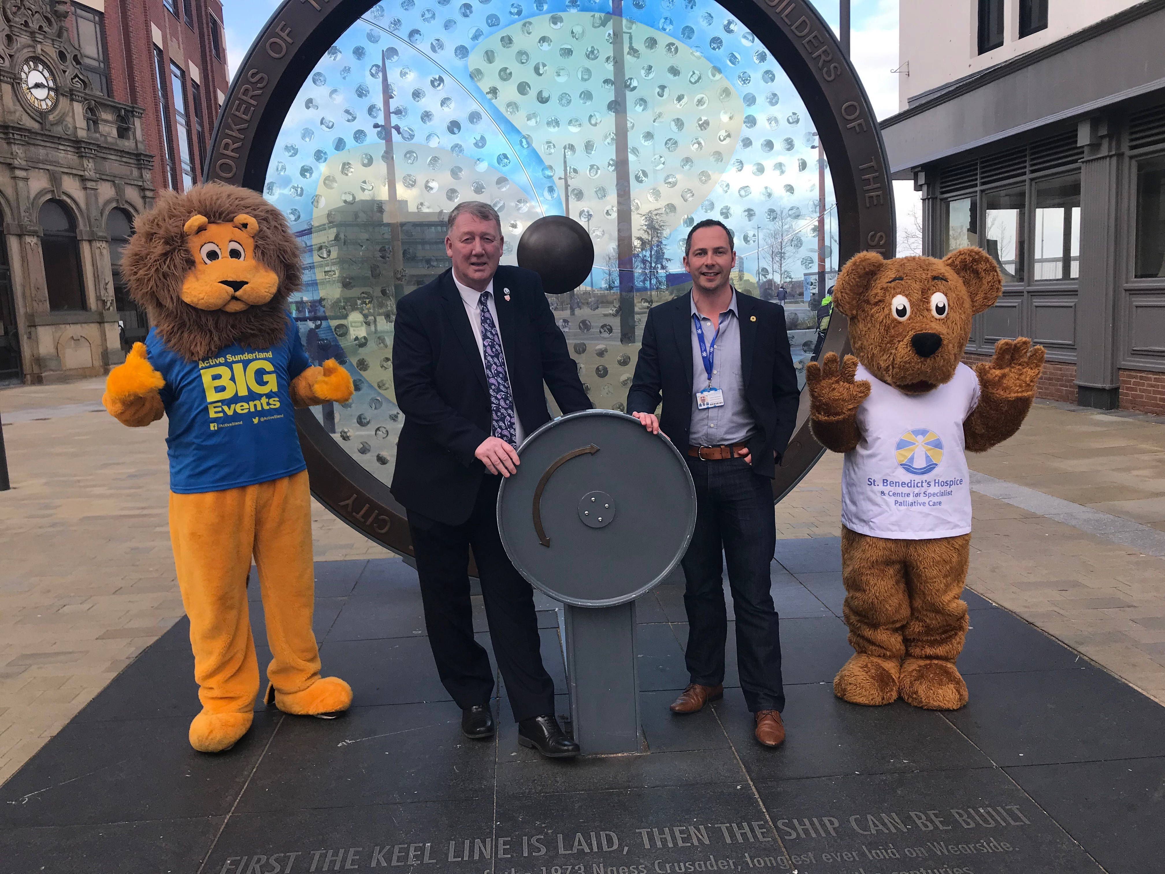 Charity fundraisers are among those preparing for the Active Sunderland BIG 3K Run  image