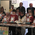 13 February 2019 (b) - I attended Ryhope Community Book Launch. Children of St Pauls School took part in an intergenerational project working with Ryhope Reminiscence Group and Ryhope Heritage Society with the book being illustrated by Liz Millions.