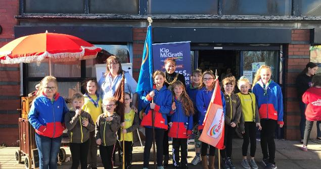 9 March 2019 - I attended the 1st and 11th Washington Brownies and Guides Funday.