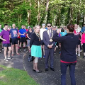 19 May 2019 - I attended the launch of Great Run Local Washington.