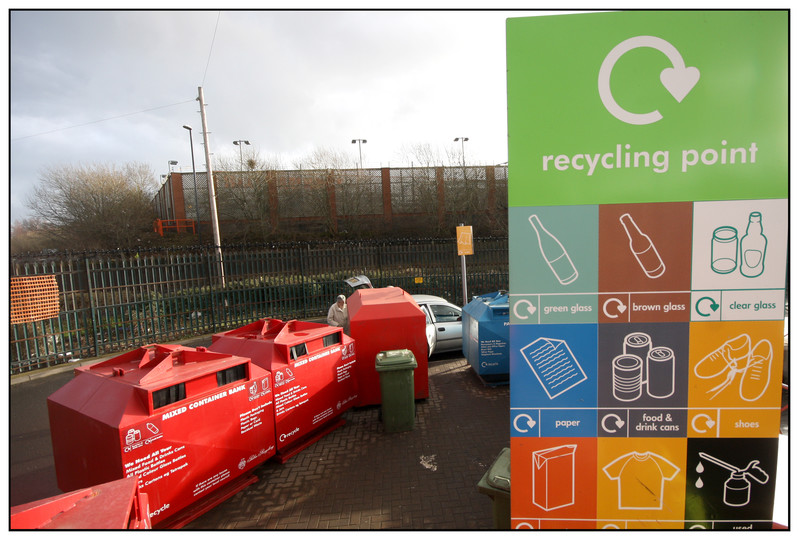 New household recycling centre image