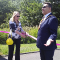 21 June 2019 - The Mayoress and I officially started off the annual Sunderland Care and Support walk in Barnes Park.