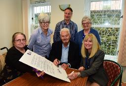 Sunderland helped celebrate UN International Day of Older Persons (1 Oct)