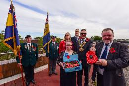 Sunderland supports the annual, national Poppy Appeal
