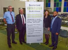 Promoting a healthier, happier workplace was the subject of a major conference held in Sunderland
