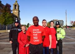 Sunderland supports Wear Red Day ( Oct 18 )