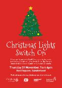 Oh, yes it is - it's the Christmas Lights Switch On