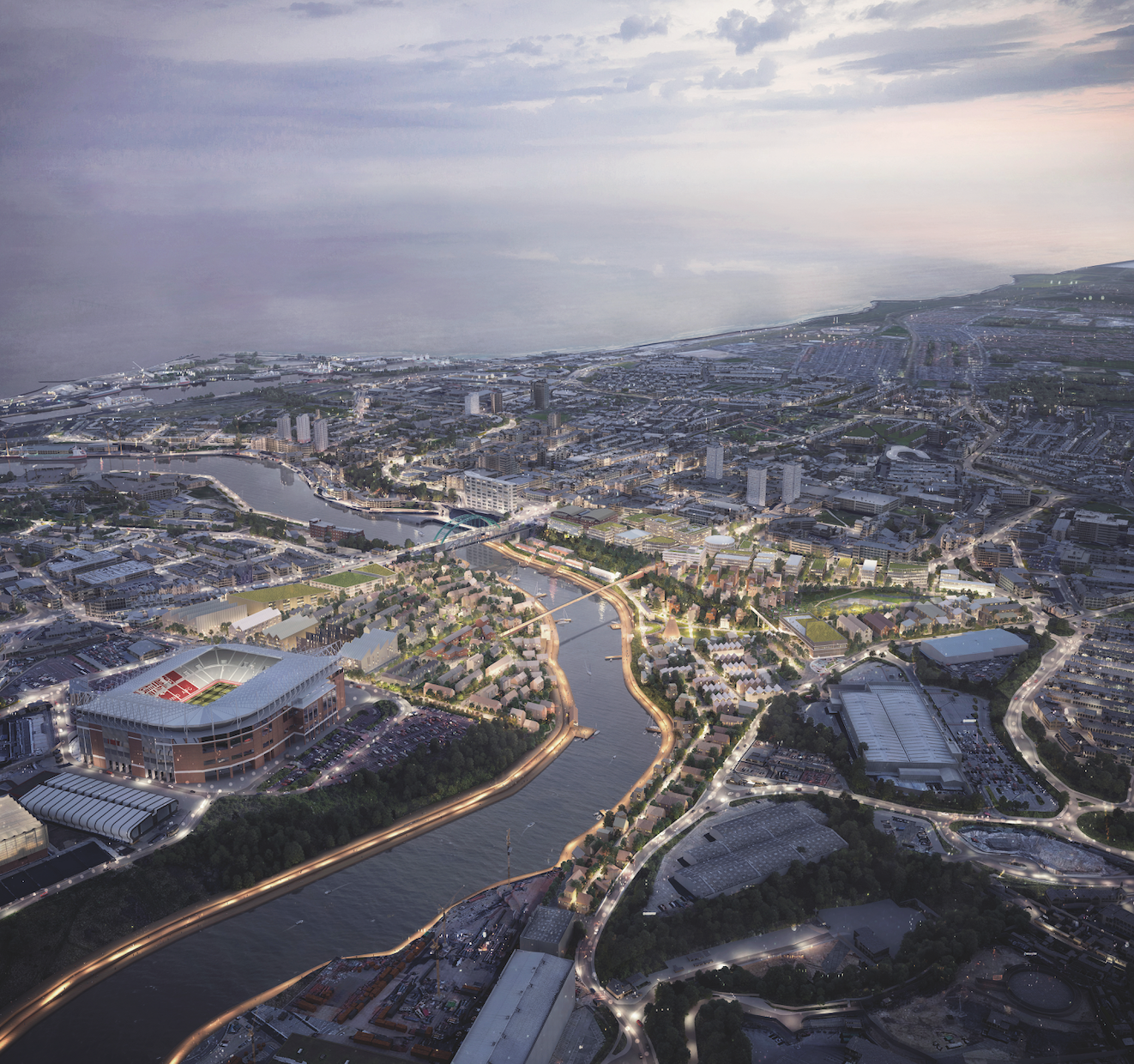 £100M city centre vision image