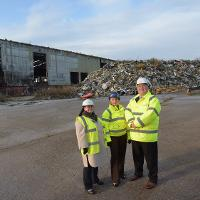Transformation plan for abandoned waste site