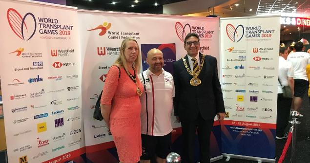 20 August 2019 - I attended the World Transplant Games at Sunderland Aquatic Centre and AMF Bowl Washington. Sunderland hosted three competitions of Swimming, Cycling and Ten Pin Bowling.